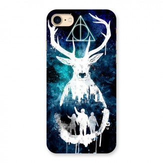 White Deer Back Case for iPhone 7