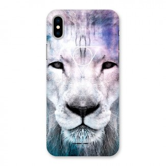 White Lion Back Case for iPhone X
