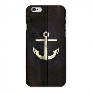Wood Anchor Back Case for iPhone 6 6S