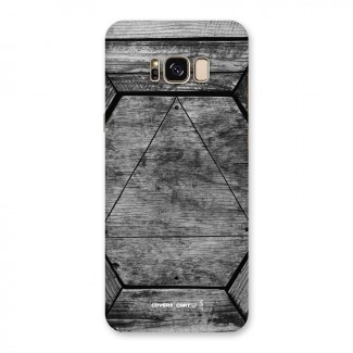 Wooden Hexagon Back Case for Galaxy S8 Plus