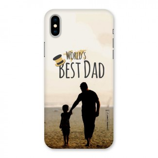 Worlds Best Dad Back Case for iPhone X
