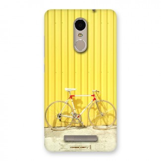 Yellow Cycle Classic Back Case for Xiaomi Redmi Note 3