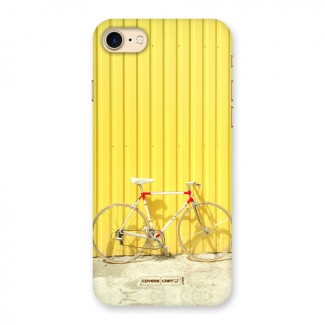 Yellow Cycle Classic Back Case for iPhone 7