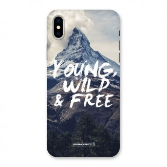 Young Wild and Free Back Case for iPhone X