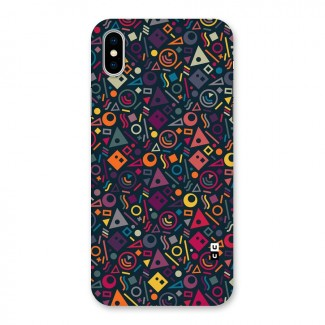 Abstract Figures Back Case for iPhone X