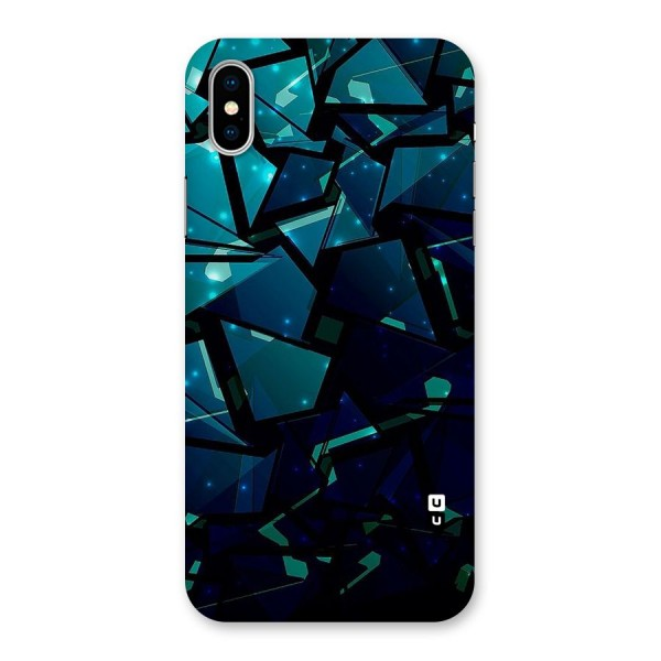 Abstract Glass Design Back Case for iPhone X