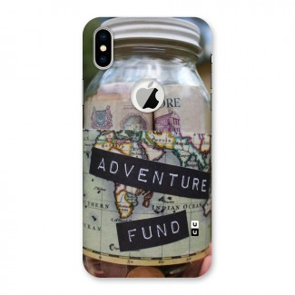 Adventure Fund Back Case for iPhone X Logo Cut