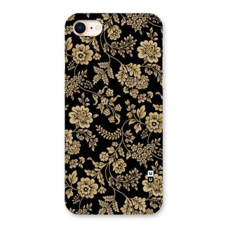 Aesthetic Golden Design Back Case for iPhone 8