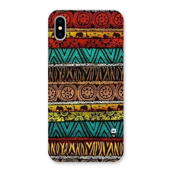 African Design Pattern Back Case for iPhone X