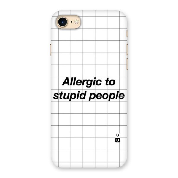 Allergic Back Case for iPhone 7