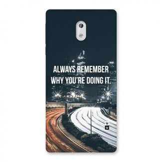 Always Remember Back Case for Nokia 3