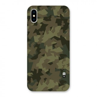 Army Abstract Back Case for iPhone X