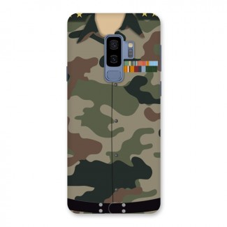 Army Uniform Back Case for Galaxy S9 Plus