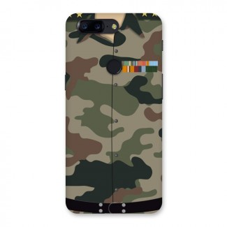 Army Uniform Back Case for OnePlus 5T