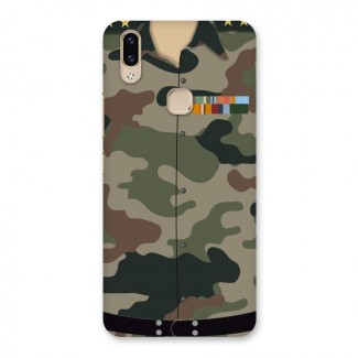 Army Uniform Back Case for Vivo V9