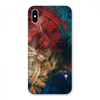 Artsy Colors Back Case for iPhone X