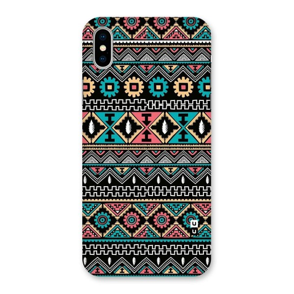Aztec Beautiful Creativity Back Case for iPhone X
