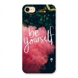 Be Yourself Greens Back Case for iPhone 7