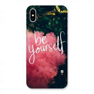 Be Yourself Greens Back Case for iPhone X