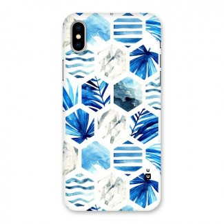 Beach Vibes Pentagon Design Back Case for iPhone X