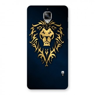 Beautiful Golden Lion Design Back Case for OnePlus 3T