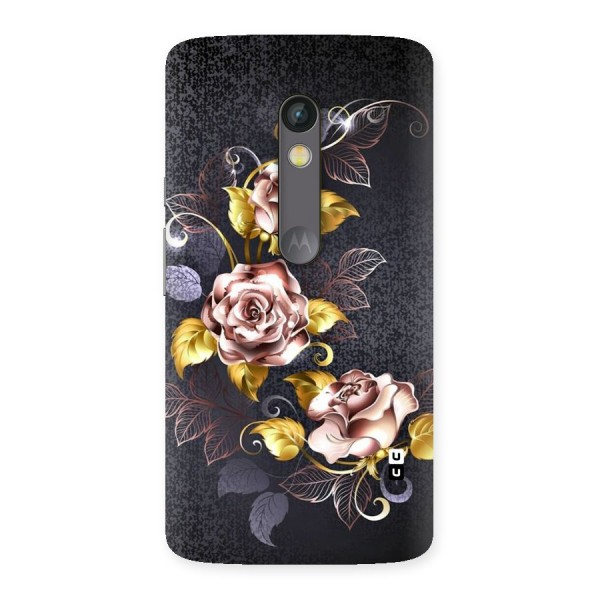 Beautiful Old Floral Design Back Case for Moto X Play