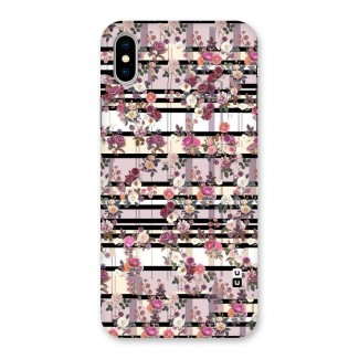 Beauty In Floral Back Case for iPhone X