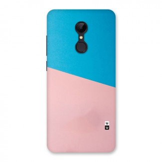 Bicolor Design Back Case for Redmi 5
