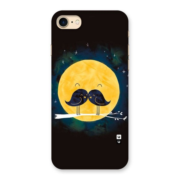 Bird Moustache Back Case for iPhone 7