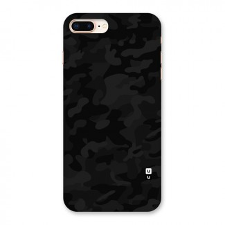 Black Camouflage Back Case for iPhone 8 Plus