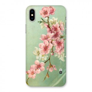 Blossom Cherry Design Back Case for iPhone X