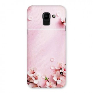 Blossom Frame Pink Back Case for Galaxy J6