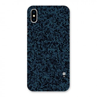 Blue Disco Lights Back Case for iPhone X