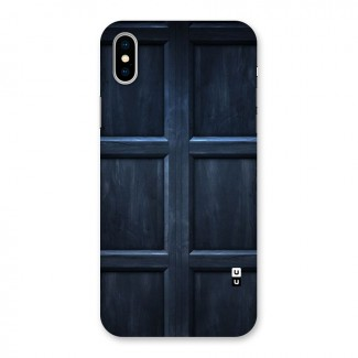Blue Door Design Back Case for iPhone X