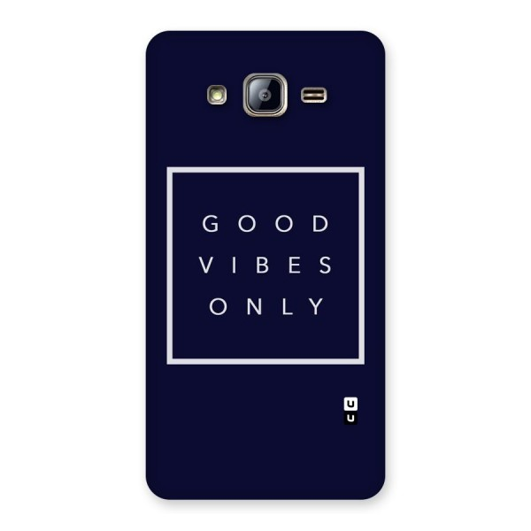 Blue White Vibes Back Case for Galaxy On5