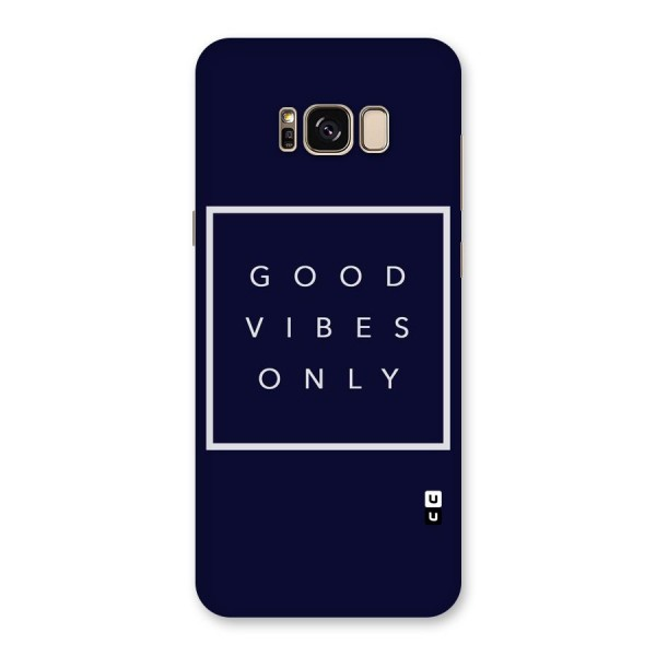 Blue White Vibes Back Case for Galaxy S8 Plus