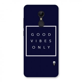 Blue White Vibes Back Case for Redmi 5