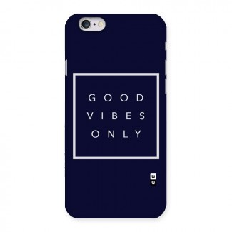 Blue White Vibes Back Case for iPhone 6 6S