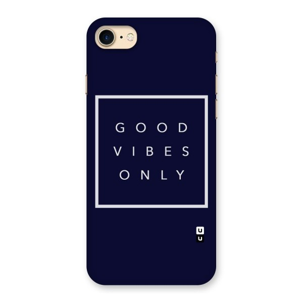 Blue White Vibes Back Case for iPhone 7