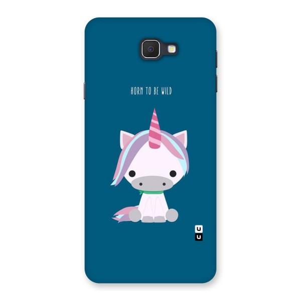 Born Wild Unicorn Back Case for Samsung Galaxy J7 Prime