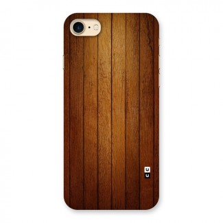 Brown Wood Design Back Case for iPhone 7