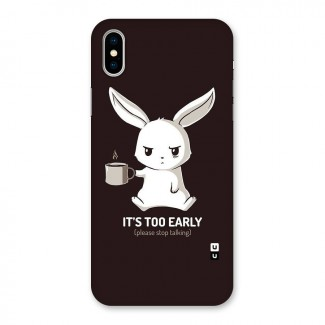 Bunny Early Back Case for iPhone X