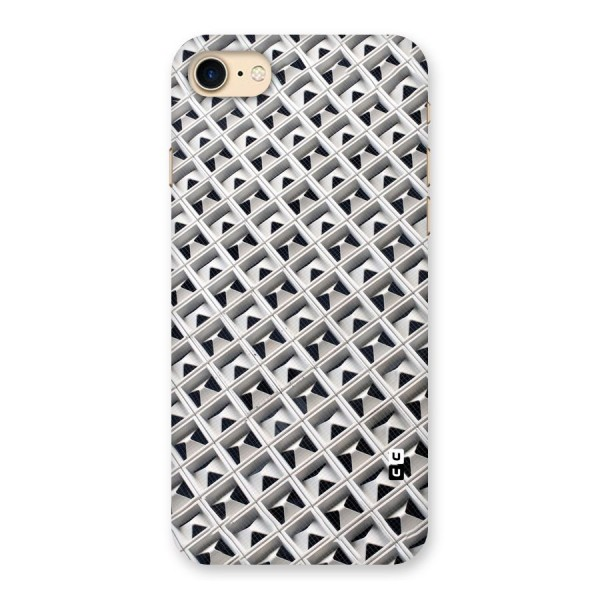Check White Design Back Case for iPhone 7