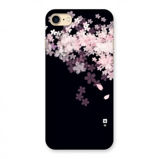 Cherry Flowers Pink Back Case for iPhone 7