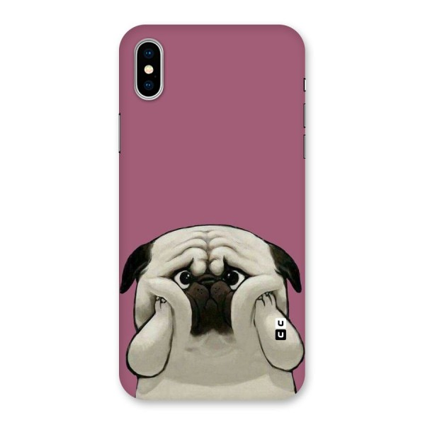 Chubby Doggo Back Case for iPhone X