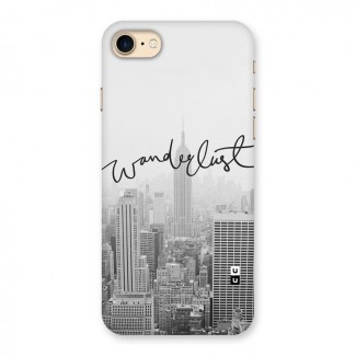 City Wanderlust Monochrome Back Case for iPhone 7