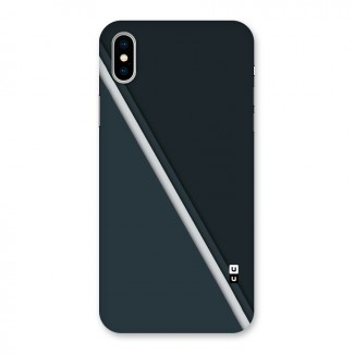 Classic Single Stripe Back Case for iPhone X