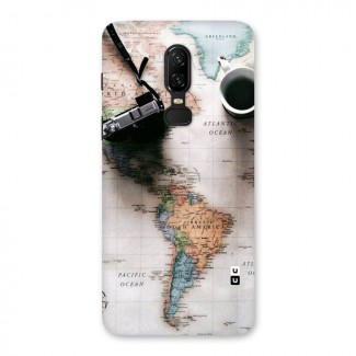Coffee And Travel Back Case for OnePlus 6
