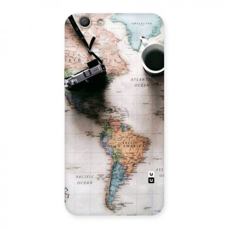 Coffee And Travel Back Case for Oppo F1s