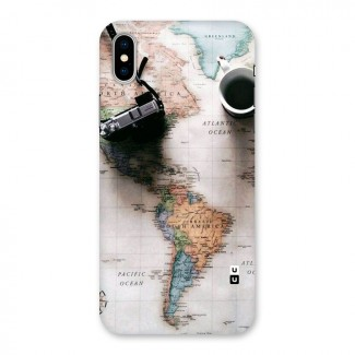 Coffee And Travel Back Case for iPhone X
